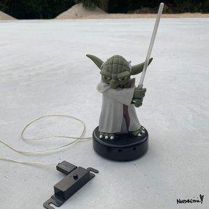 Rare Wesco Yoda Light-Up Talking Yoda